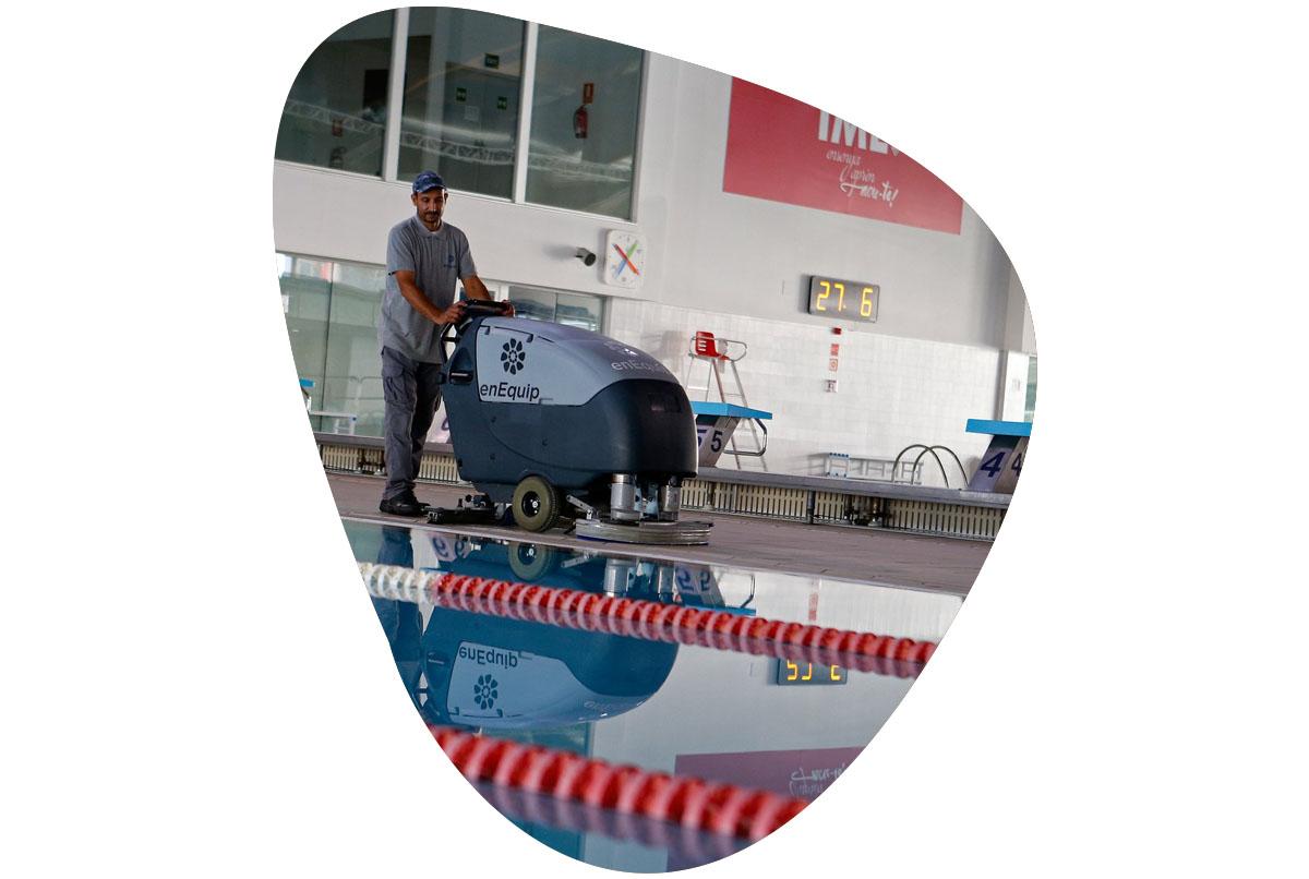 enEquip serveis de neteja a installacions esportives balears